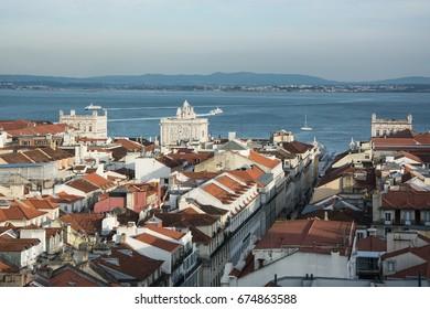 Beautiful cityscape of Lisbon