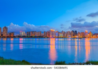 Beautiful cityscape in Wenzhou, China