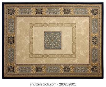 Beautiful classical carpet of machine work