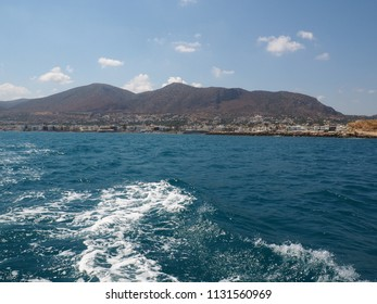 Beautiful clean Crete sea scenery, amazing holiday in mediterranean