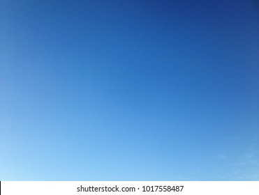 Beautiful clear sky