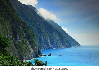 Beautiful Cliff in Hualien, Taiwan