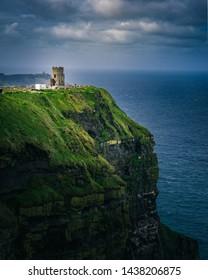Beautiful Cliffs of moher in Ireland