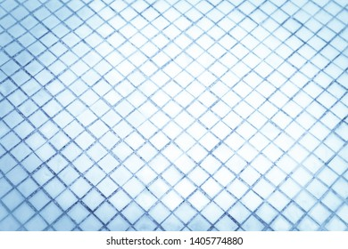 Beautiful closeup textures abstract tiles and light blue and silver glass pattern wall background and art wallpapers