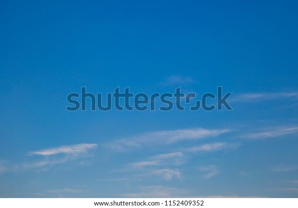 Beautiful cloud and blue sky