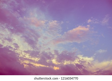 Beautiful clouds background.
