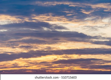 Beautiful clouds for background
