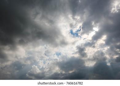 Beautiful Clouds over Dubai, United Arab Emirates