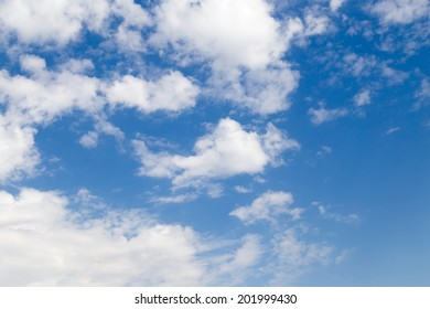 beautiful clouds in the sky