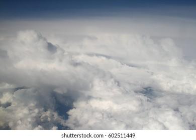 Beautiful clouds in the sky.