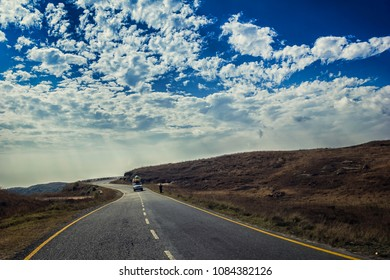 Beautiful clouds in the Sky on the road to Cherrapunji, Meghalaya, India