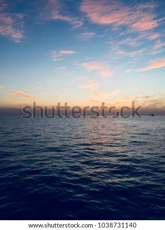 Beautiful Clouds Sunrise Sunset HD Wallpaper For Mobile And Desktop Offshore View