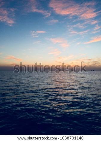 Beautiful Clouds Sunrise Sunset Hd Wallpaper Stock Photo Edit Now