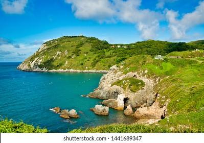 The beautiful coast of Dongyin Township,Matsu .Taiwan