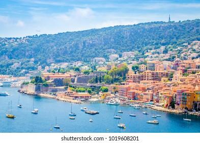 Beautiful coast of french riviera, France