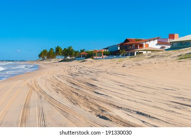 Beautiful coast in Natal, Brazil