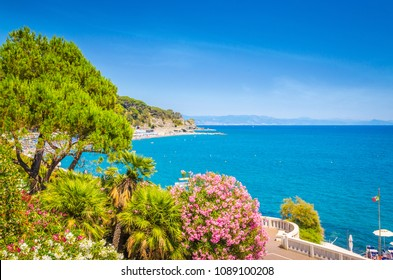 Beautiful coast of Savona, Liguria, Italy