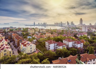 The beautiful coastal city of Qingdao