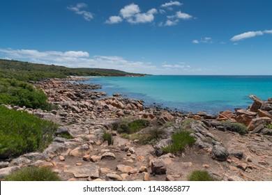 Beautiful coastal landscape of Cape Naturaliste, Leeuwin-Naturaliste National Park, Western Australia