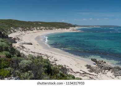 Beautiful coastal landscape close to Margaret River, Leeuwin-Naturaliste National Park, Western Australia