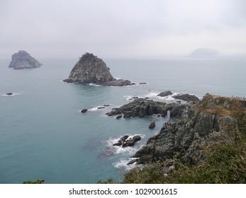 Beautiful coastline view