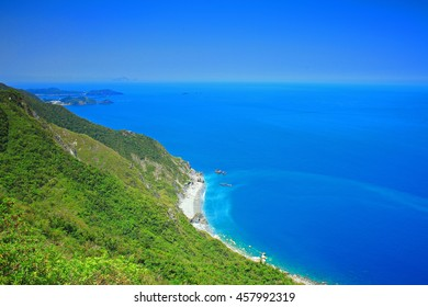 Beautiful Coastline in Yilan, Taiwan
