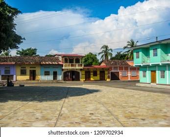 Beautiful colonial architecture of Granada, Nicaragua