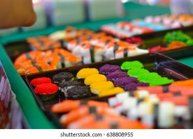 so beautiful color Sushi