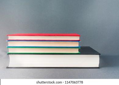 Beautiful colorful books.