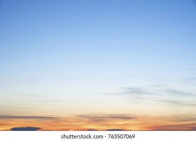 Beautiful colorful sky. Sky background