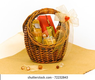 Beautiful cookie hamper gift basket for giving