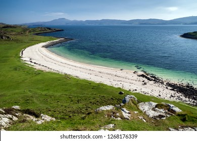 Beautiful Coral beach at Isle of Skye, Scotland