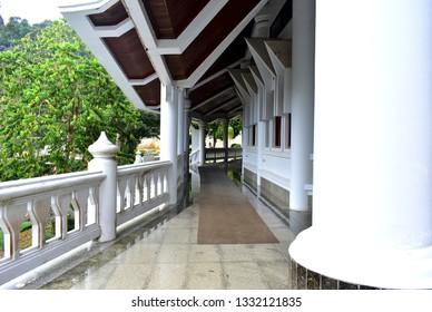 Beautiful corridor atmosphere