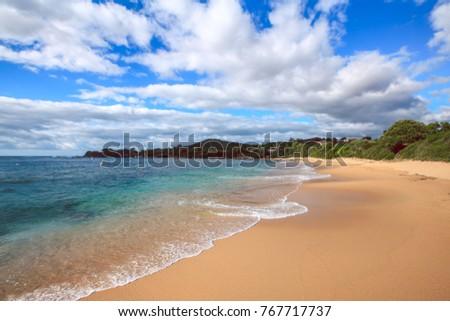45419904157a Beautiful Corsica Beach Mountains Sea Beach Stock Photo (Edit Now ...