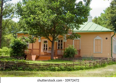 Beautiful country house and vegetable garden