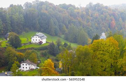 Beautiful country houses around Salzburg