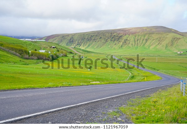 Beautiful countryside in Iceland