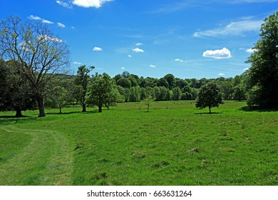 The beautiful countryside near Lamberhurst in the Weald of Kent