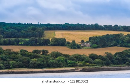 Beautiful countryside of South Queensferry, Scotland.