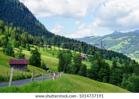 Beautiful Countryside Of Switzerland