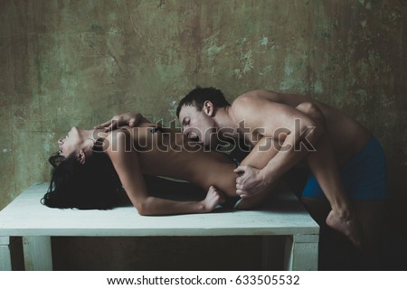 Having sex on a table pics