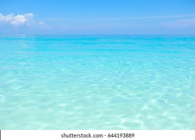 Beautiful crystal clear water at Similan island in Andaman sea, Southern of Thailand