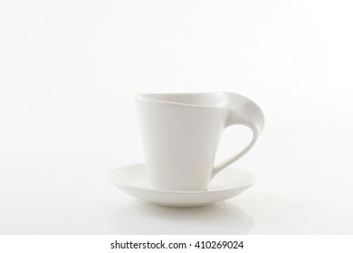 Beautiful cup with saucer