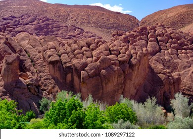 Beautiful Dades gorge in Morocco