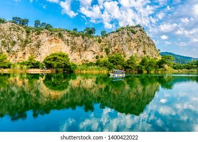 Beautiful Daltan Canal view inTurkey