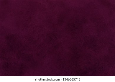 Beautiful dark red or brown texture abstract wall background, ribbed pink surface texture with copy space, unusual spotted magenta surface background