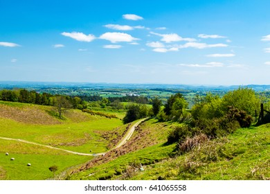 A beautiful day in May and walk from Kington in Herefordshire up to Hergest Ridge and along Offa's Dyke Path