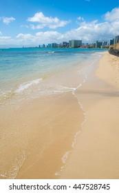 Beautiful day on Waikiki Beach