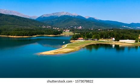 A beautiful day in plaz Pezoulas - Shutterstock ID 1573078822