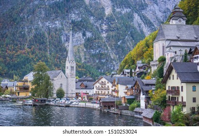 A beautiful day in this famous and picturesque village in Austria - Hallstatt.  This little place just set on the lake and its beauty will blow your mind.